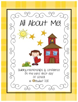 All About Me on The First Day of School!