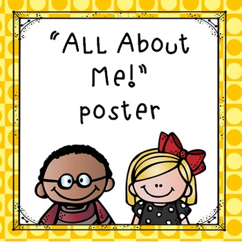 """""""All About Me"""" Printable Poster Freebie"""