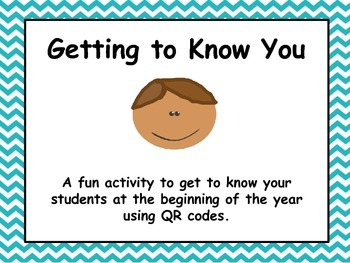 All About Me~Getting to Know Your Students