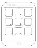 All About Me/Todo acerca de mí iPad