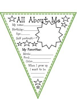 All About Me/Todo sobre mi banner