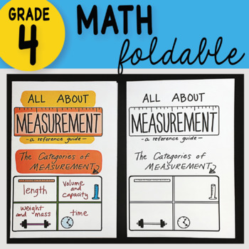 Doodle Notes - All About Measurement Math Interactive Notebook Foldable