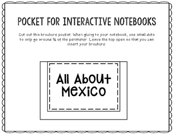 Mexico - Research Project - Interactive Notebook - Government - Mini Book