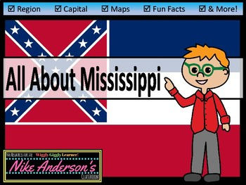 All About Mississippi | US States | Activities & Worksheets