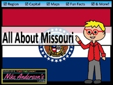 All About Missouri  US States   Activities & Worksheets