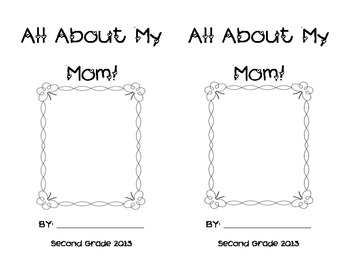 All About Mom Book