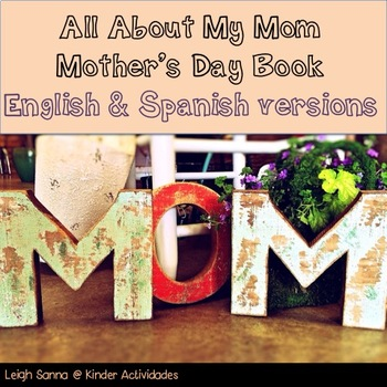 Mother's Day Book English & Spanish Versions