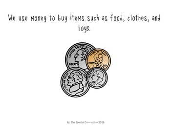 All About Money! Coins... An Adapted Book
