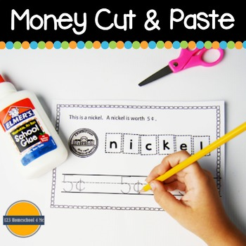All About Money Cut & Paste Book