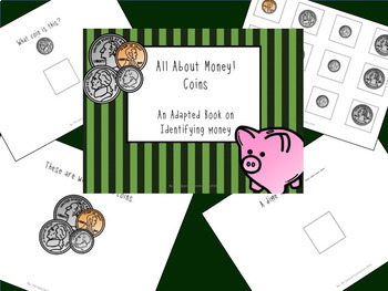 All About Money: File Folder and Adapted Book Bundle