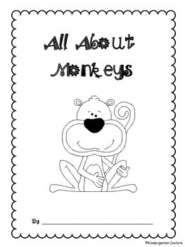 All About Monkeys - freebie