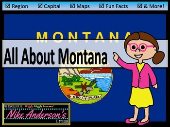 All About Montana| US States | Activities & Worksheets