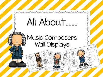 All About......Music Composers Wall Display