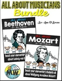 All About Musicians Bundle: Mozart and Beethoven
