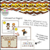 All About My Body! Adapted Book for Special Education/Autism/Kindergarten