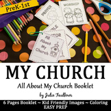 All About My Church Booklet, Craft, FREEBIE