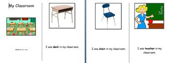 All About My Classroom ELL resources