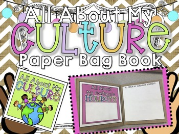 All About My Culture Paper Bag Book