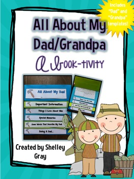 All About My Dad {A Book-tivity}