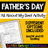 All About My Dad! {Father's Day Activity}