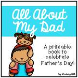 All About My Dad - Father's Day Printable Book