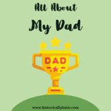 All About My Dad Interactive Booklet