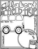 All About My FIELD TRIP Poster Activity (Fill In Poster fo