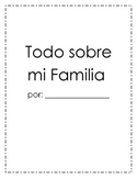 All About My Family Book (Spanish and English)