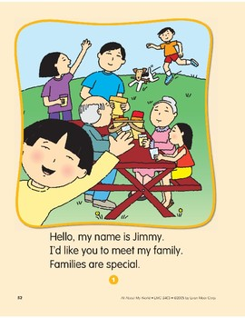 All About My Family: Circle-Time Book