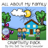 All About My Family (get students to open up)