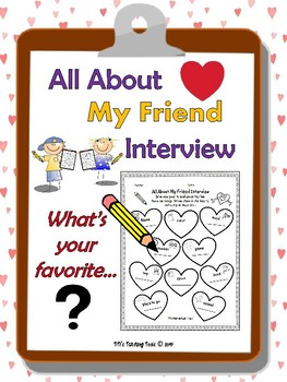 All About My Friend Interview