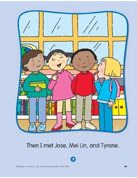 All About My Friends: Circle-Time Book
