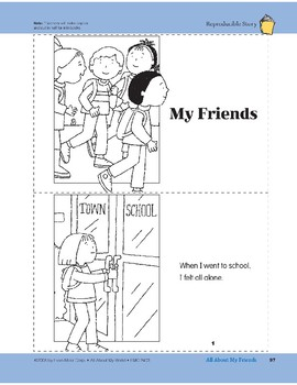 All About My Friends: Take-Home Book