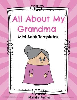 All About My Grandma Mini Book Templates