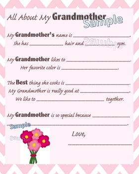 All About My Grandmother