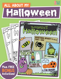 All About My Halloween – A Fall Holiday Activity