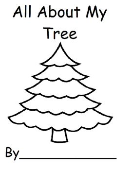 All About My Christmas Tree (Christmas, Speech, Autism)