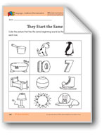 All About My Home: Language and Math Activities