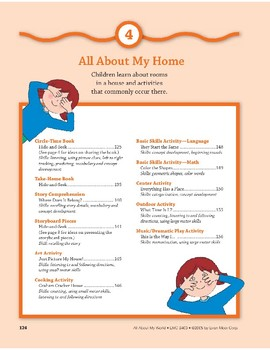 All About My Home: Outdoor and Dramatic Play Activities