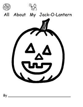 All About My Jack-O-Lantern