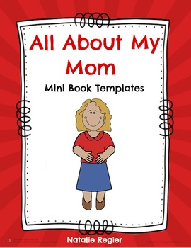 All About My Mom Mini Book Templates