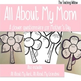 All About My Mom: Mother's Day Questionnaire