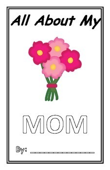 Mother's Day Book - All About My Mom