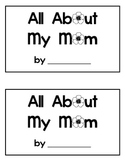All About My Mom mini-book