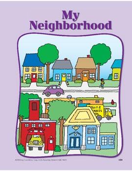 All About My Neighborhood: Circle-Time Book by Evan-Moor ...