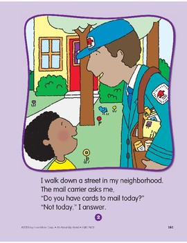 All About My Neighborhood: Circle-Time Book