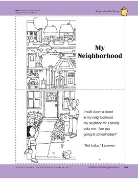 All About My Neighborhood: Take-Home Book
