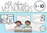 All About My Numbers 0-10! Counting, number lines, tens fr