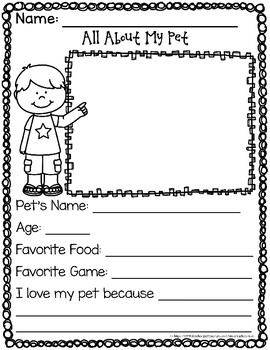 All About My Pet