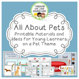 All About My Pet: Printables, Activities, & Ideas for Preschool and Kindergarten